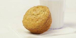 Orange and date muffins