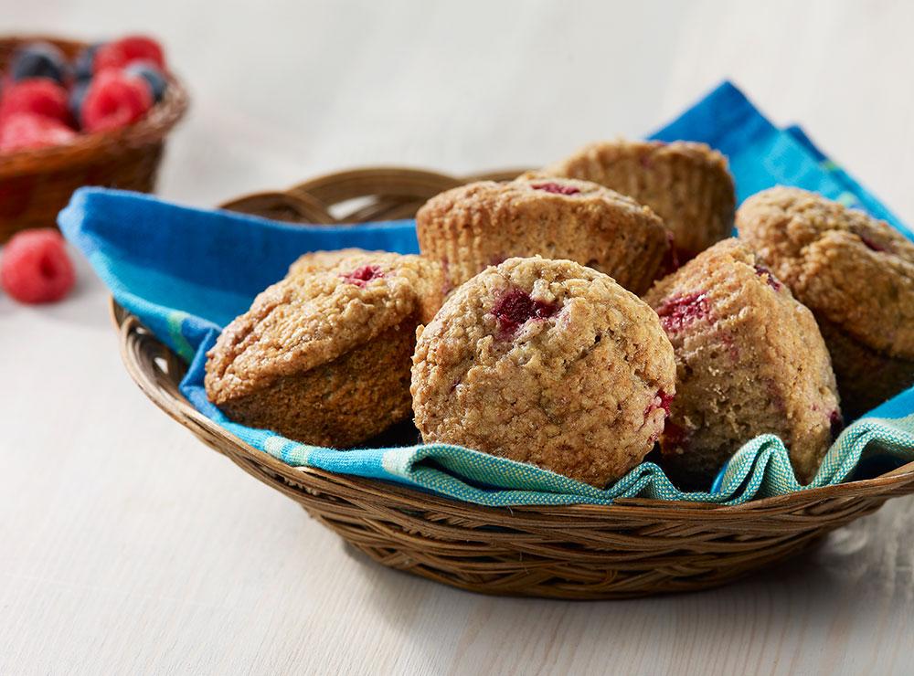 Muffins aux petits fruits des champs