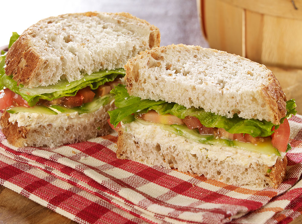 Greek hero sandwich