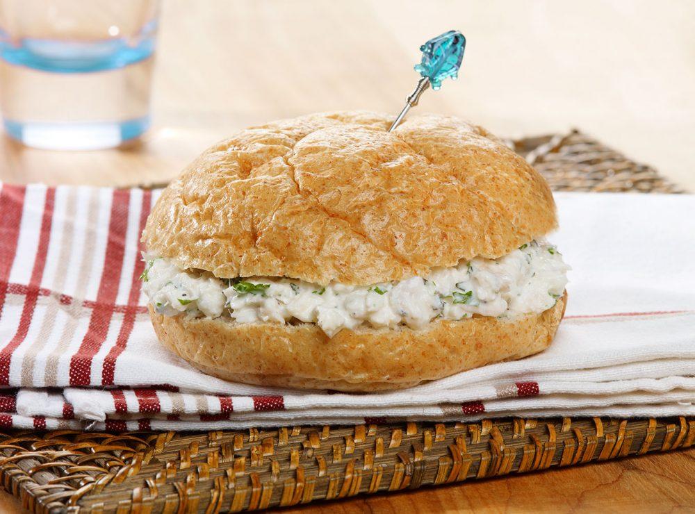 White fish sandwich