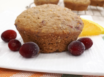Orange and Cranberry Muffins