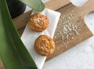 Muffins aux bananes exotiques