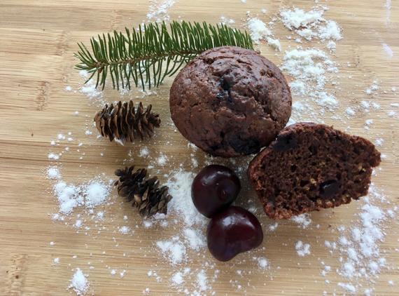 Muffins forêt-noire