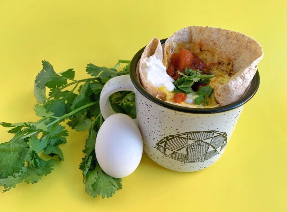Burrito dans une tasse